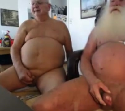 grandpa couple on webcam blue nose razor edge