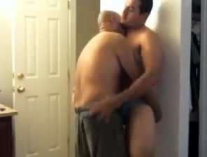 Crazy amateur gay scene with Young/Old scenes plumber and housewife sex