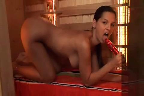 OILY EVE GIRL IN SAUNA my femdom clips mansion