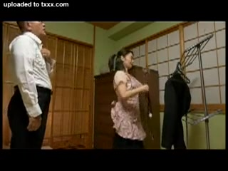 Amazed Japanese Wife Caught Husbands Young Cousin Military men com