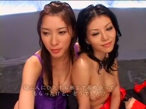 Hottest Japanese model Anna Akizuki, Riko Tachibana in Horny Cunnilingus, Dildos/Toys JAV scene Mystique porn x men hentai