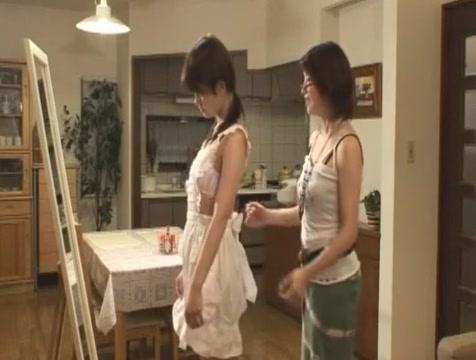 Fabulous Japanese model Manami Amamiya in Amazing Small Tits JAV movie Old Man Impregnate