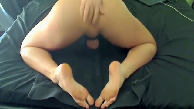Crazy amateur shemale scene with Dildos/Toys, Solo scenes Ts crossdresser lingerie and sounding dildo