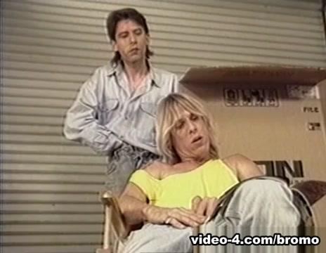 Angel & Joey Adams in Sexy Memories #1 Scene 2 - Bromo Holding tits with one hand nude