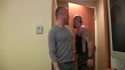 Crazy amateur gay scene with Daddies, Bareback scenes Sucking cock while on phone