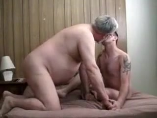 Incredible amateur gay movie with Young/Old scenes Big boobs stockings