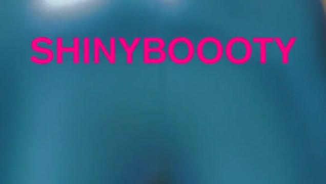 Shiny Booty in Blue Leggings Leak video clip sex