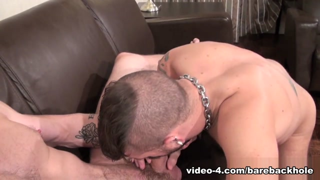 Jeff Kendall and Jon Shield - BarebackThatHole Two Hot Brunette Babes Licking Each Other