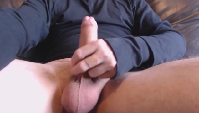 My solo 73 jerking out huge cumshot on couch with my toy free porn from survivor girl