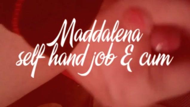 Maddalena crossdresser self handjob cum Ukrainian bride was