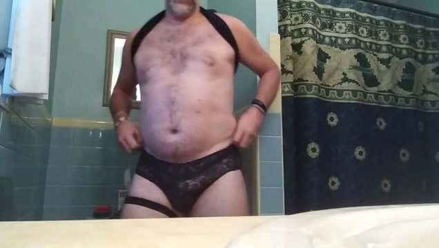 Danrun s sexy musky cummy morning with panties Step son spying step mom