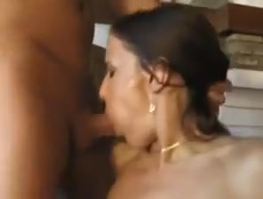 Everyone is licking a sexy girl enhancing sex