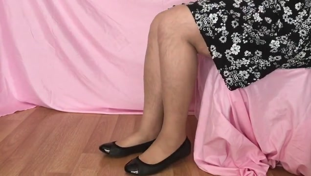 Shoeplay with my black ballet flats free black porn rough sex