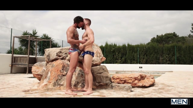 Colton Grey & Hector De Silva in Incomparable - GodsOfMen Tattooed babe pleasures squirting beauty