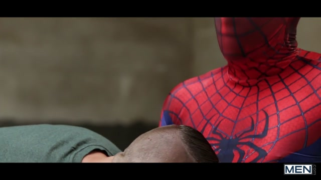 Aston Springs & Will Braun in Spiderman : A Gay XXX Parody Part 2 - SuperGayHero Naked pics of joanie laurer