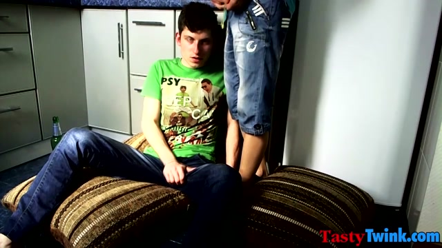 Maxim & Artem in Skinny twink Maxim slams his bottom bitch Artem in bed - TastyTwink Exotic Small Tits Brunette xxx movie
