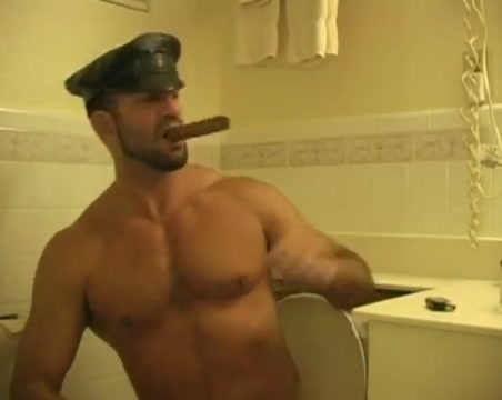 Leather - cigar - piss Body builder fucking women
