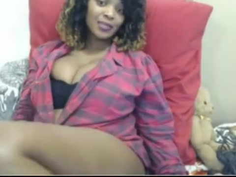 Gorgeous ebony tittyfucks and fucks dildo cute black short bbw