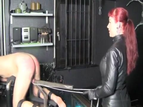 Exotic homemade Femdom, Spanking porn scene How far can anus stretch