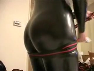 Horny homemade BDSM, Latex adult video Valerie batista sex