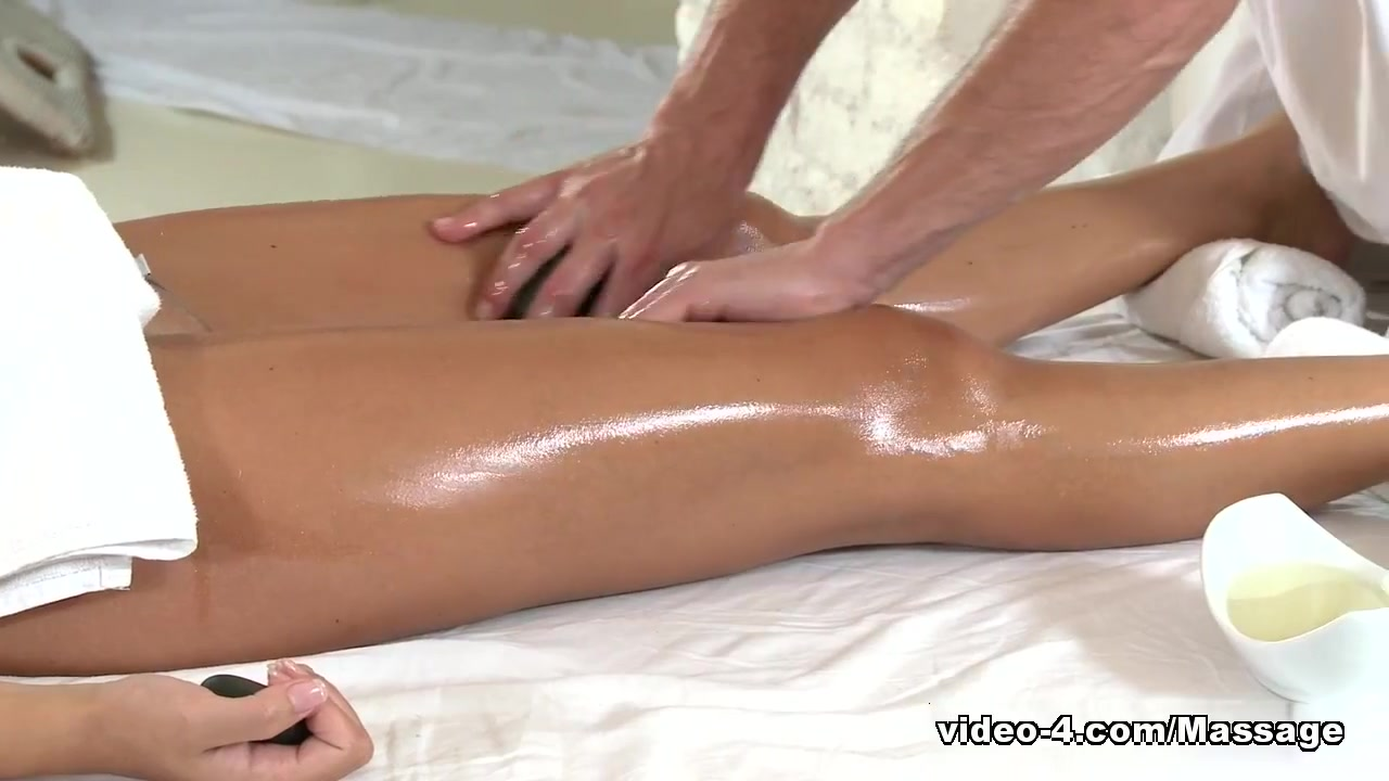 George does a professional massage to a sexy brunette Is britt from bachelor hookup someone