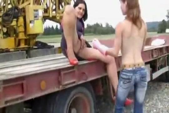 Exotic amateur Lesbian, Fetish sex video