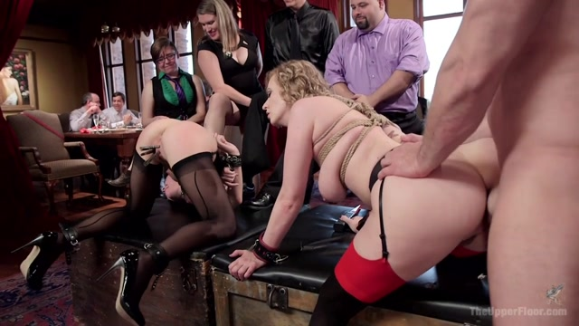 Cherry Torn & John Strong & Alina West in Young Anal Slut Trained In Cock Worship - TheUpperFloor