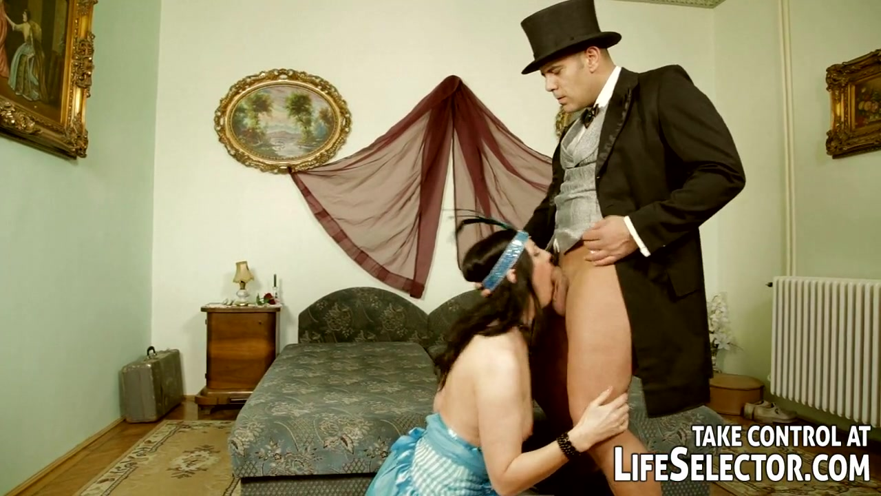 Lady and maid get punished and fucked by two gentleman adult vod service review