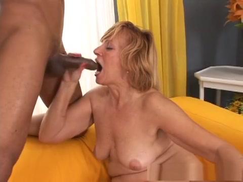 Hottest pornstar in horny mature, facial adult clip