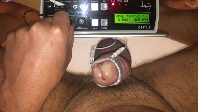 Cock head estim electro torture Fucking broke chick by lake for cash