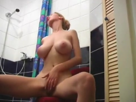 Fabulous homemade Big Tits, Showers porn scene
