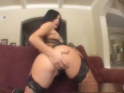 Exotic pornstar Presley Maddox in amazing fishnet, brunette sex movie