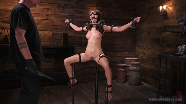 Melissa Moore in Newcomer Melissa Moore Submits To Screaming Bondage - DeviceBondage Halloween costumes and naked