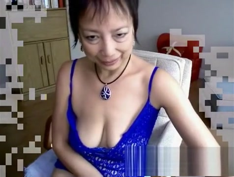 Horny Asian granny fucks herself with a dildo nina mercedez busty latina milf