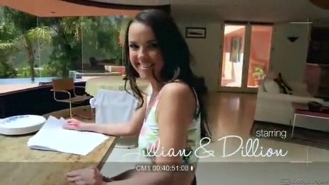 Young Lesbians Dillion Harper And Jillian Janson Having Hot Passionate Teen