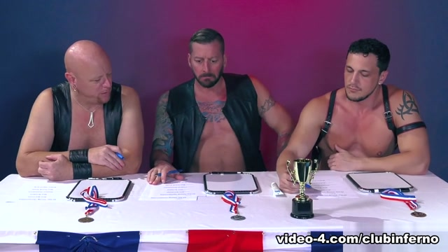 Hugh Hunter & Axel Abysse & Joey D & Sam Syron in World Series of Fisting - ClubInfernoDungeon Free deep fisting porn