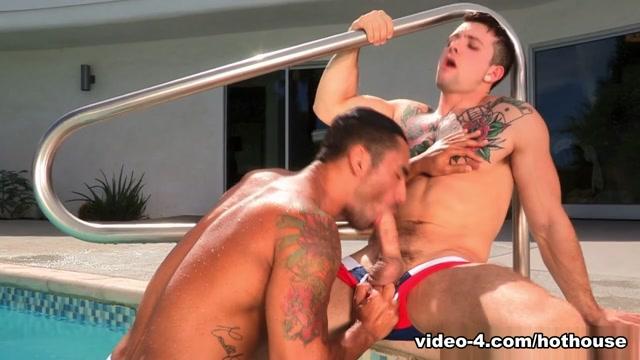 Sebastian Kross & Bruno Bernal in Heated, Part One, Scene #01 - HotHouse Pornstar shaved masturbate cock and crempie