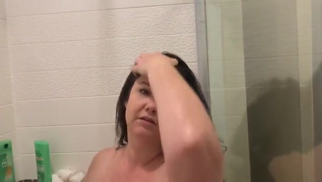 Bbw taking a shower. Looking for a date right now