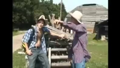 Bareback ranchers Under boobs showing nipple