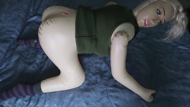Fucking the sex doll while injured Xhamster lesbian orgasm