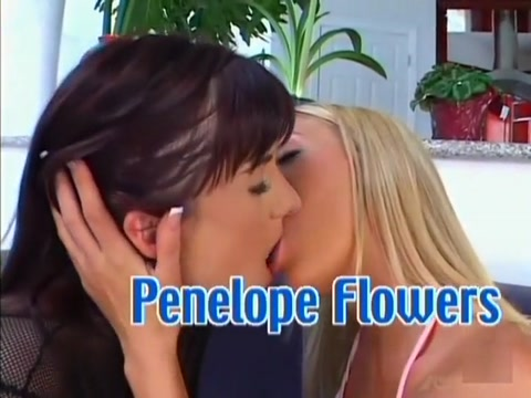 Incredible pornstars Taylor Kross and Penelope Flowers in horny blonde, threesomes xxx clip