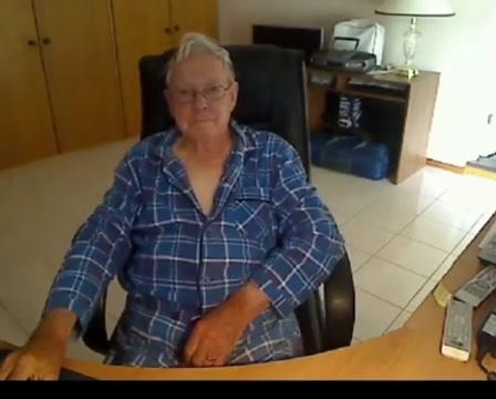 Grandpa cum on webcam 8 man fuck girl with period