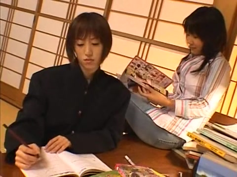 Amazing Japanese chick Minaki Saotome, Arisa Kanno in Horny Lesbian JAV video Older nude plump wife