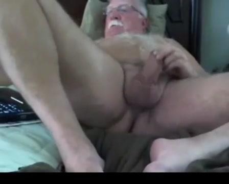 Grandpa stroke on webcam 7 Bubble butt and big tits video