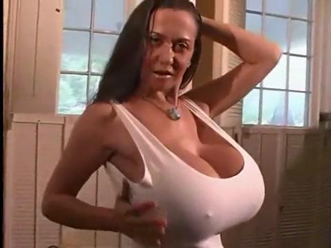 Horny Brunette, Big Tits xxx scene Xxx Suune Leon Allvidoes