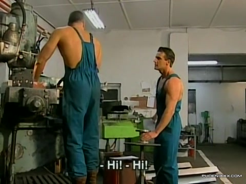 Factory hunk workers crazy wild and rough gay sex orgy Big ass and tits big dick