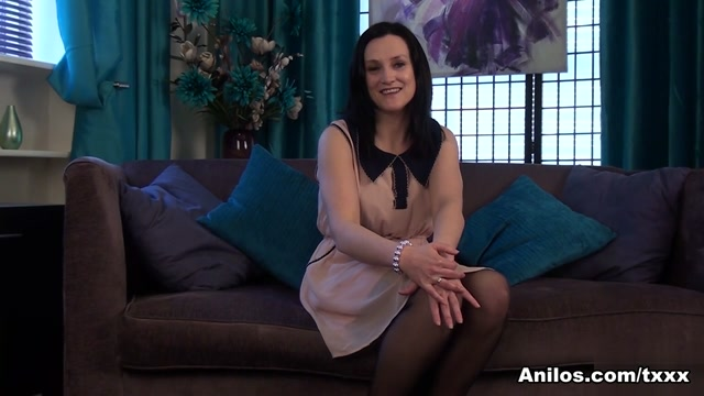 Emily Marshall in Hairy Snatch - Anilos busty lesbian babes in lace thongs