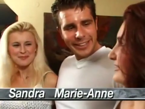 Sandra russo and marie-anne four cock gangbang Latina big tits porn star