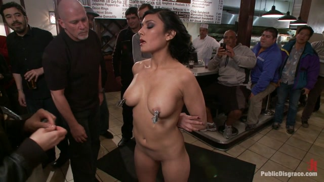 Free For All At The Steak House - PublicDisgrace Free amateur interracial moviesr
