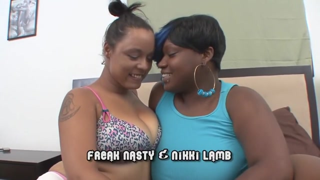 Exotic pornstars Freak Nasty and Nikki Lamb in fabulous lesbian, black and ebony xxx clip Clip free in nude public video